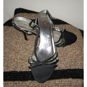 CATO strappy black sandals 11